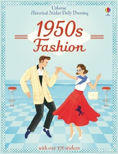 Historical Sticker Dolly Dressing 1950s Fashion by Megan Cullis (2014-08-01) (Sticker Dolly 2014)