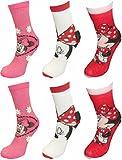 Die besten Disney Mädchen Socken - Disney Minnie Mouse Girls 6 Pack Socken UK Bewertungen