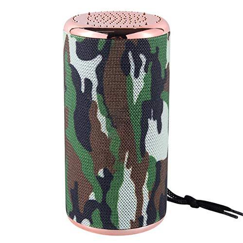 qiyan, Neue Ankunfts - bewegliche Bluetooth - Lautsprecher mit voller Lautstärke, Wasserdichten Outdoor - Stereo Bass - USB- / TF/FM - Radio Audio # 3.14-in tragbare Lautsprecher Gras Grün
