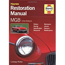 MGB Restoration Manual (Restoration Manuals) by Lindsay Porter (1999-01-14)