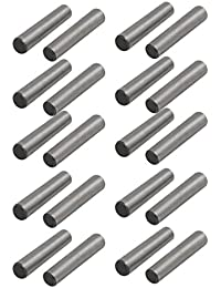 Tradico® Carbon Steel GB117 20mm Length 4mm Small End Diameter Taper Pin 20pcs