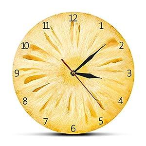 ZHOUJ Reloj de Pared piña
