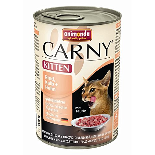 Animonda Cat Carny Kitten Rind,Kalb,Huhn | 6x400g