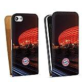 DeinDesign Apple iPhone 5c Tasche Hülle Flip Case FC Bayern München FCB Stadion