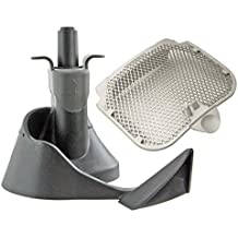 SPARES2GO Filtro + mezcla Cuchilla Pala Remover Arm & Seal–para la salud freidora Tefal Actifry 2en 1(para Gourmand, Plu, Seb + Aceite)
