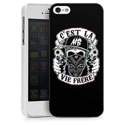 Apple iPhone X Silikon Hülle Case Schutzhülle Montanablack Fanartikel Merchandise C'EST LA VIE FRERE Hard Case weiß