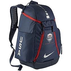 Nike USA Hoops Elite Max Air Team - Mochila para hombre, color azul, talla única