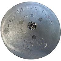Tecnoseal R5timón ánodo–Zinc–5cm de diámetro