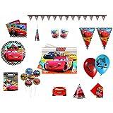 Marvel 7689 - Kit de fiesta (formato XXL), diseño de Cars
