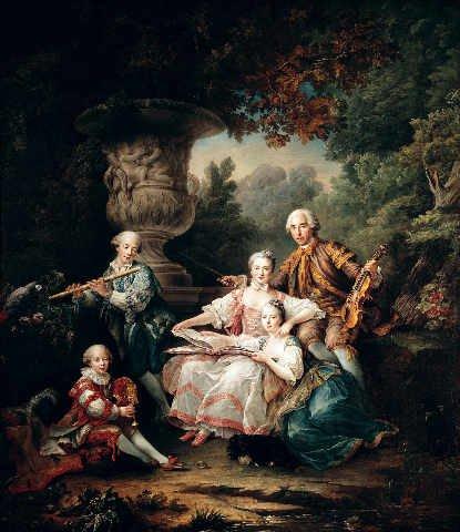 Kunstreproduktion: François Hubert Drouais 'Louis du Bouchet (1645-1716) Marquis de Sourches and...