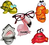 Unbekannt 1 Stück __ Brillenhalter -  Tiere aus dem Zoo  incl. Namen - stabil aus Kunstharz - universal Größe - für Erwachsene & Kinder / Brillenhalterung - lustiger..