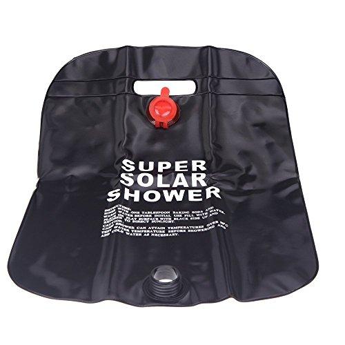 g Wandern Solaranlage fuer warmes Camp Dusche Bag Outdoor Dusche Wasser Beutel (Dusche Bag)