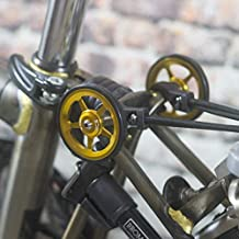 Super ligero fácil ruedas + tornillos de titanio para Brompton ...
