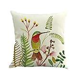 Dragon Zweige Bird Kissen Cover Kissen Tasche Sofa Zuhause Dekor by (Weiß b)