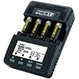 Powerex Maha WizardOne MH-C9000 Battery Analyser Charger for 4 AA/AAA Rechargeable Batteries