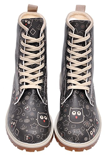 Dogo  Owl Lover,  Damen Stiefel , schwarz - schwarz - Größe: EU 40 - 6