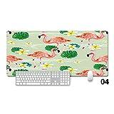 Best Tapis de souris Tapis De Souris Design Graphique Ordinateurs - Tzsysb Motif Flamingo Tapis de souris mignon serrure Review