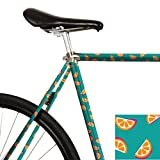 MOOXI-BIKE Fahrrad-Folie Gina Orangino (ausreichend für Teilbereiche)