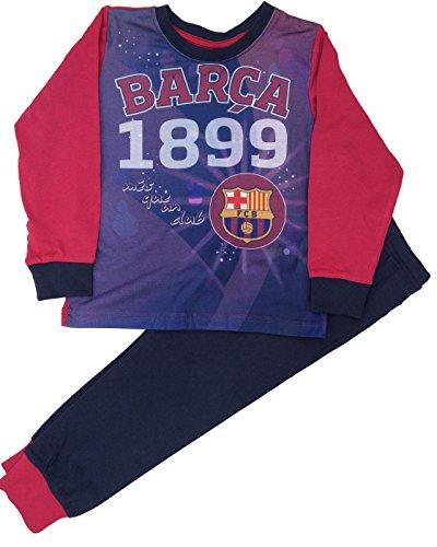 Barcelona F.C. - Pijama Dos Piezas - para niño Azul Azul 5-6 Años