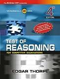 Test of Reasoning for Competitive Examinations 4th Edition price comparison at Flipkart, Amazon, Crossword, Uread, Bookadda, Landmark, Homeshop18