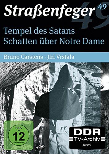 Straßenfeger 49 - Tempel des Satans / Schatten über Notre Dame (4 DVDs)