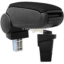 Farbe:Grau Stoff Mittelarmlehne // Mittel-Armlehne mit klappbarem staufach // Mittel-konsole Fahrzeugspezifisch