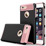 iBarbe iPhone 7Plus Fall, iPhone 8Plus Fall, Slim Fit Shell Gummi Hard Kunststoff Full Schutz Kratzfest Resistent Sc