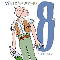 Roald Dahl The BFG Age 8 Birthday Card