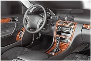Meric Cockpit Dekor Cd Al00340 Exclusive 3d Ausführung 16 Teile Farbe Aluminium Auto