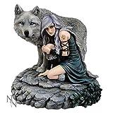 Anne Stokes 'protector' Wolf Fantasy Art Edición limitada figura decorativa