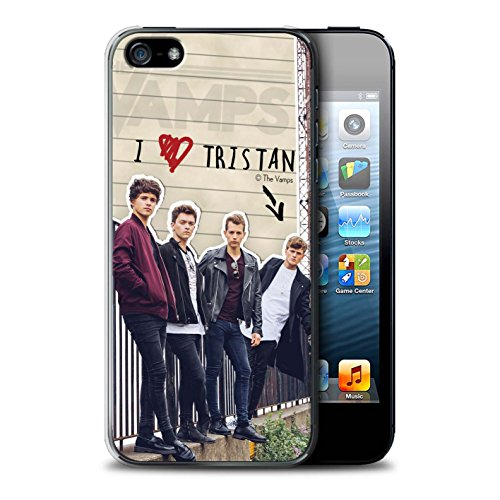 Offiziell The Vamps Hülle / Case für Apple iPhone SE / Pack 5pcs Muster / The Vamps Geheimes Tagebuch Kollektion Tristan