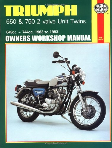 Haynes publications the best amazon price in savemoney triumph 650 750 2 valve unit twins 649cc 744cc 1963 to 1983 fandeluxe Choice Image