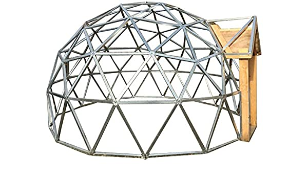 18 Foot Diameter Geodesic Dome Frame Kit: Amazon.co.uk: Garden ...