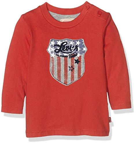 levis-tim-maglietta-bimba-0-24-rossopompeian-red-24-mesi