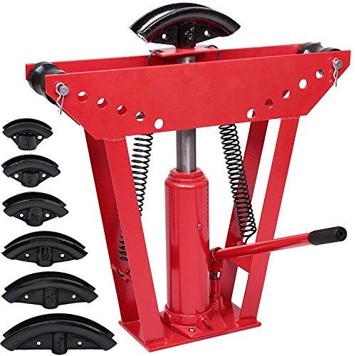 Varan Motors Rohrbieger hydraulisch, Presse Rohrbiegezange, Druck 12Tonnen mit 6Matrizen