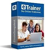 Einstellungstest 2018 Komplettpaket: eTrainer – Der Online-Testtrainer | Über 2.600 Aufgaben mit Lösungen: Allgemeinwissen, Sprache, Mathe, Logik, visuelles Denkvermögen, Konzentration, Merkfähigkeit und mehr | Fit für den Eignungstest im Auswahlverfahren