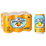 San Pellegrino Orange 6 X 330Ml (Packung mit 4)
