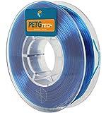 PETG Tech 250 g. Blue 1.75 mm - Hochleistungs-PETG-Filament für Den FFF-3D-Druck - High Performance PETG Filament for 3D Printer