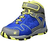 Jack Wolfskin Unisex-Kinder Portland Texapore Mid K Trekking-& Wanderstiefel, Blau (Vibrant Blue), 35