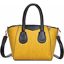 Borsa Donna,Kword Donna Casuale In Pelle Tote Bag Borsa Borsa A Tracolla Casuale Tote Zip Bag