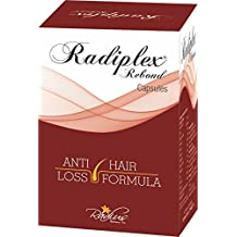 Radiplex Rebond Hair Care Nutrition Capsules| Amino Acid Complex| Natural Extracts| Vitamins & Essential Minerals for Hair (30 caps)