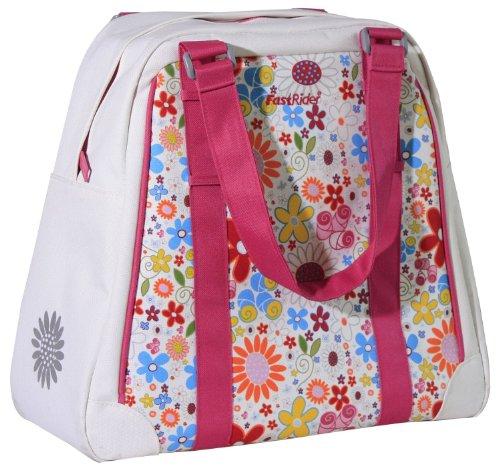 Fast Rider Damen Einkaufstasche Anemone Weiß White Floral 21.5 Litres Litres (Anemone Bag)