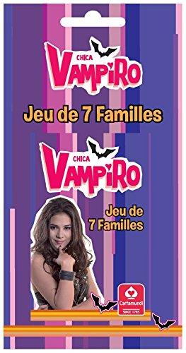 Topps - 404545 - Chica Vampiro - Jeu de 7 Familles - Blister