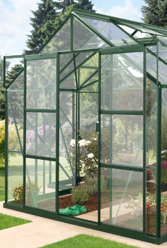 Vitavia Doppeltür-Set für Gewächshaus Sirius Orangerie grün