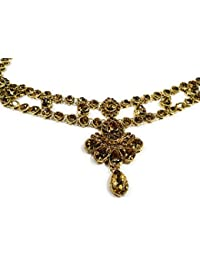 Indian Ethnic Designer Fashion High Quality Kundan Stone, Gold Plated Belly Chain For Women And Girl/belly Chain...