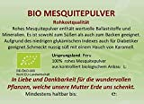 Regenbogenkreis Mesquite Pulver, Bio, Rohkostqualität Violettglas 200g