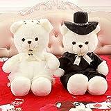 VERCART Hochzeit & Jubiläum Teddybär Heirat Paar Teddybär Liebhaber Teddybär Dating Engagement Teddybär