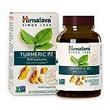 Himalaya Curcuma 95 avec Cucurmin USDA Certified Supplement | Pour le soulagement des douleurs articulaires et des antioxydants - poudre de 13 081 mg,60 caps (High Potency Turmeric95 (2-Month-Supply))