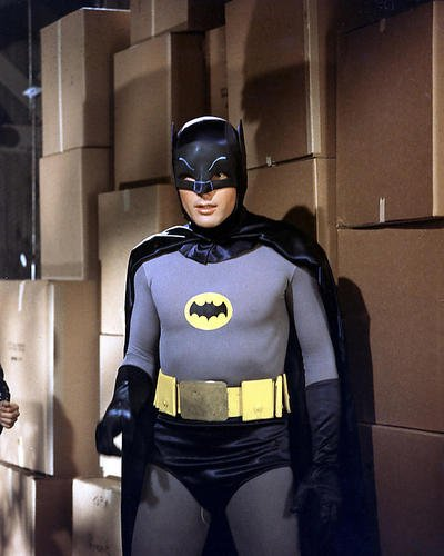 Batman Adam West 14 x 11 Werbe Foto in (Kostümen Batman West Adam)
