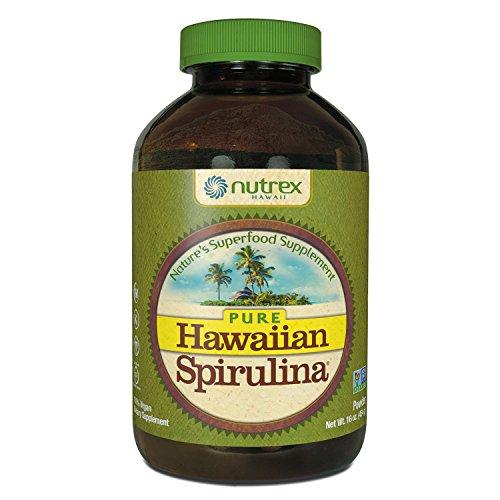 Nutrex Hawaii Hawaiian Spirulina Pacifica Powder, 16-Ounce Bottle - 51oQf%2BareyL
